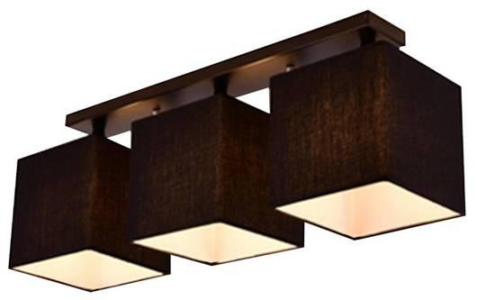 Lampa Sufitowa Candellux Boho 33-58386 E27 Czarny