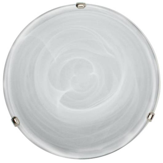 Lampa Sufitowa Candellux Duna 14-38732 Plafon Biały Uchwyt Chrom