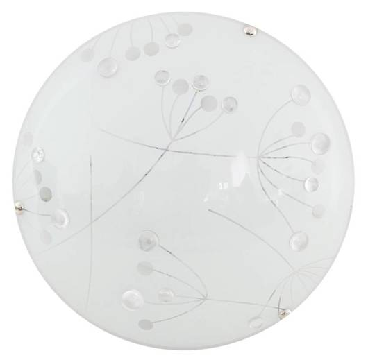 Lampa Sufitowa Candellux Floral 13-49742 Plafon Led 3000K Transparentny