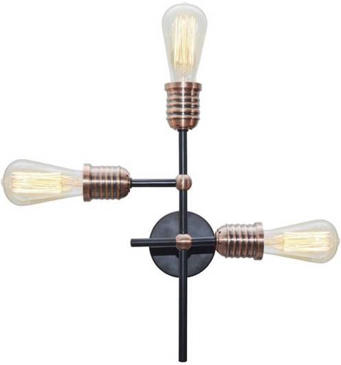 Lampa Sufitowa Candellux Kirimu 33-66893 E27 Czarny