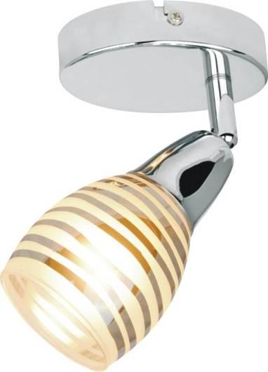 Lampa ścienna kinkiet 1X10W E14 LED chrom JUBILAT 91-54050