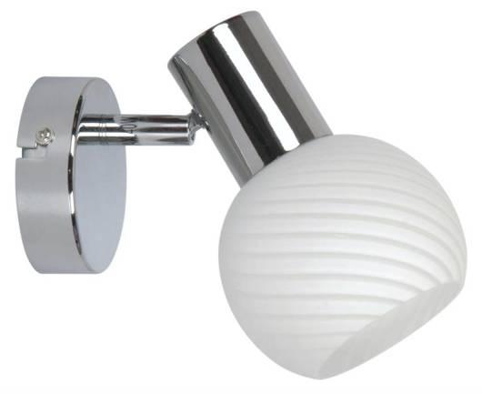 Lampa ścienna kinkiet 1X40W E14 chrom TURNO 91-94189