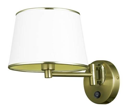 Lampa ścienna kinkiet 1X40W E14 patynowy IBIS 21-01279