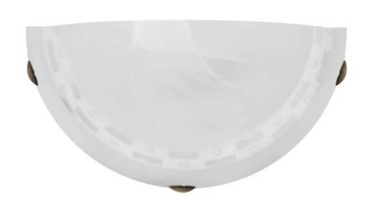 Lampa ścienna kinkiet 1X60W E27 patyna+biały MILEA 11-59956