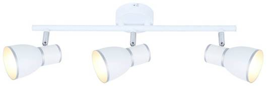 Lampa ścienna listwa 3X40W E14 biały/chrom 93-63403