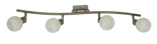 Lampa ścienna listwa 4X40W G9 satyna/chrom ALABASTER 94-07162