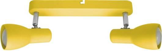Lampa ścienna sufitowa listwa musztardowa 2x40W Picardo 92-52407