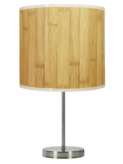 Lampa stołowa gabinetowa sosna 41cm 60W E27 Timber 41-56712