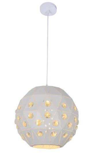 Lampa sufitowa wisząca 1X40W E27 biały TENDER 31-69672