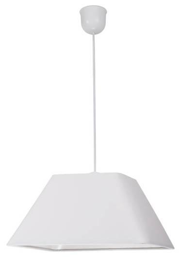 Lampa sufitowa wisząca 1X60W E27 biały ROBIN 31-57518