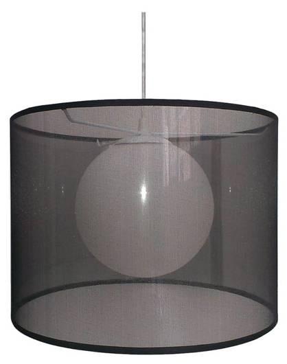 Lampa sufitowa wisząca 1X60W E27 czarny CHICAGO 31-24879