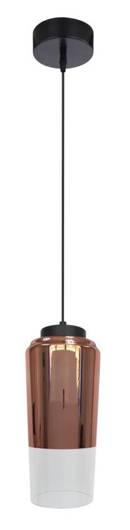 Lampa sufitowa wisząca 1X60W E27 miedziany TUBE 31-51271