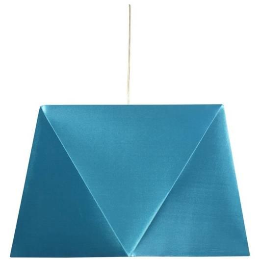 Lampa sufitowa wisząca 1X60W E27 turkus HEXAGEN 31-03621