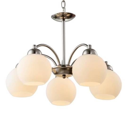 Lampa sufitowa zwis 5X60W E27 satyna TOBAGO 35-25463