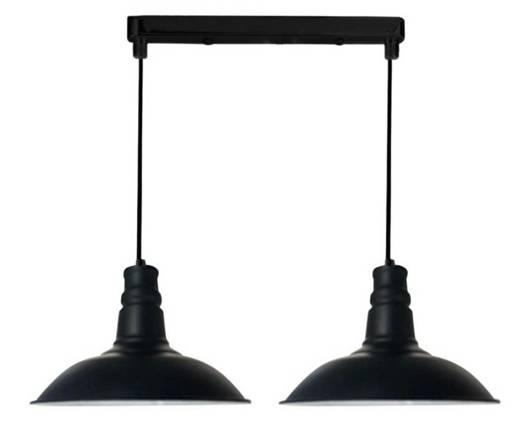 Lampa wisząca sufitowa podwójna 2x60W Consuela Candellux 32-57624