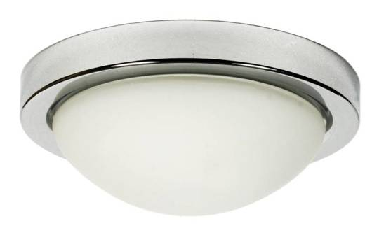 Plafon chrom 28cm lampa do łazienki IP44 60W E27 Roda Candellux 11-9691