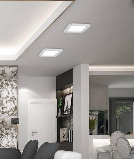 Plafon do łazienki LED 18W IP44 3000K lampa biała Nexit Candellux 10-66831